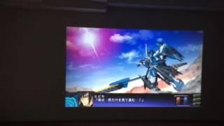 投射テスト optoma hd26 スパロボ主人公機戦闘 ps vita tv
