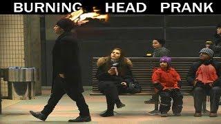 Burning Head PRANK 🔥 -Julien Magic