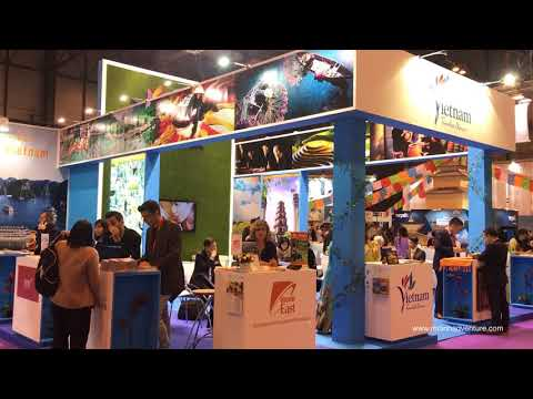 Mr Linh's Adventures at FITUR in Madrid 2018