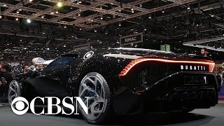 Geneva motor show features new electric vehicle technology