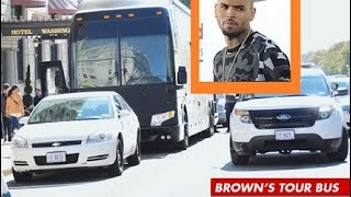 "Chris Brown is Being Investigated after a Woman Claims She was ""Manhandled"" & Tossed off His TourBus"