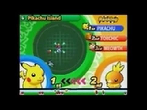 Pokemon Dash! Nintendo DS Gameplay - Pikachu Island
