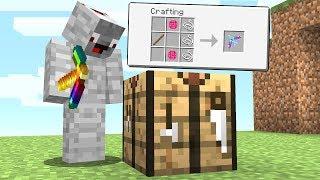 Ich CRAFTE HEIMLICH den 7.777+ OP BOGEN💯㊙️.. Minecraft LUCKY BLOCK BEDWARS