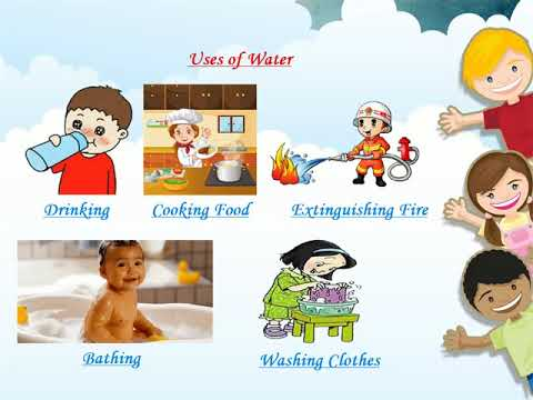 Sources And Uses Of Water Kids Learning Video Water Sources