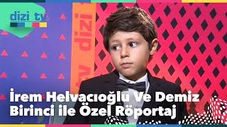İrem Helvacıoğlu ve Demir Birinci ile özel sohbet - Dizi Tv 606. Bölüm