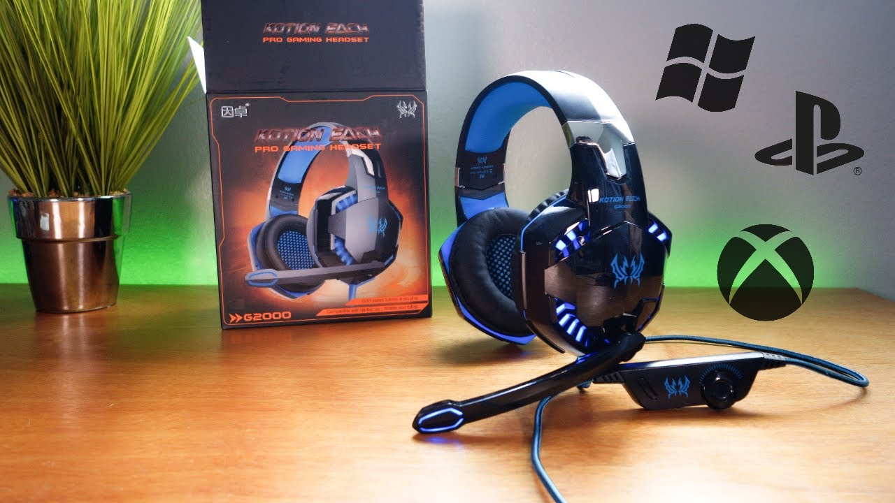 Download G2000 - Gaming Headset - Xbox One S PS4 PC
