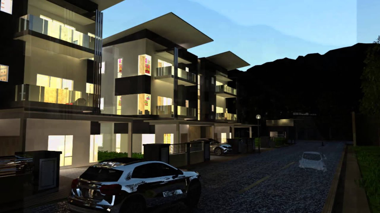 Perspective of Semi D project for HH Hartaniaga at Cheras by interior my