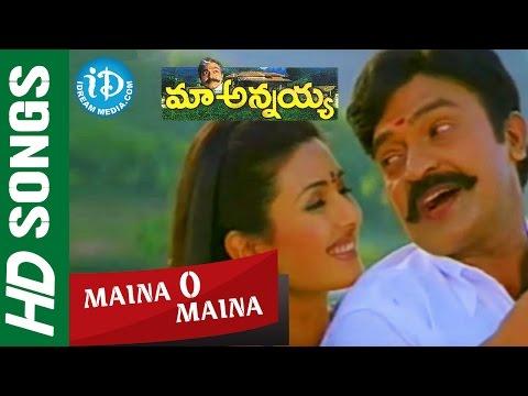 Maa Annayya - Maina O Maina Video Song - Rajasekhar || Meena || Deepti Bhatnagar