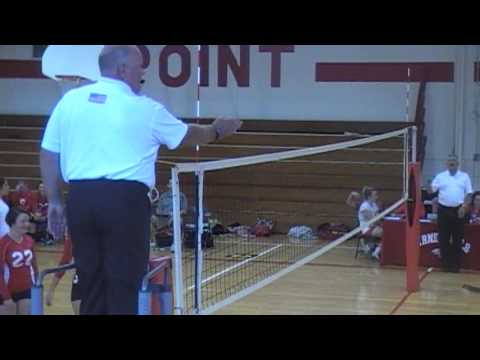 Kelly Miller volleyball