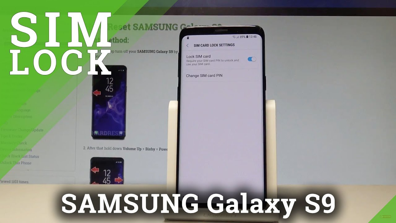 how to activate deactivate sim lock in samsung galaxy s9. Black Bedroom Furniture Sets. Home Design Ideas