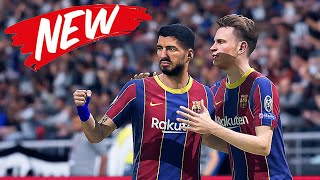 Fifa 21 Fc Barcelona Inter Milan Gameplay Pc Hdr Ultimate Mod Youtube