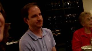 A very quick birthday song for Brian at Benihana