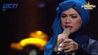 "Indah Nevertari Nyanyi Ellya Khadam ""Boneka India"" & ""Gangsta"" Kat Dahlia - Rising Star Indonesia"