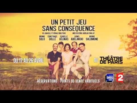Vidéo Bande Annonce France 2 - Un petit jeu sans conséquence