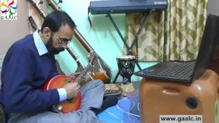 Mandolin beginners training online Skype lessons Guru learn how to play Carnatic music Mandolin