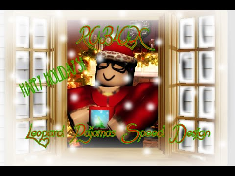 Pyjama Roblox Roblox Christmas Leopard Footie Pajamas Youtube