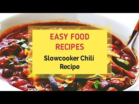 Slowcooker Chili Recipe