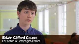Edwin - Education & Campaigns Officer