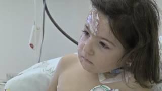 ألمانية تعيد الأمل لطفلة سورية