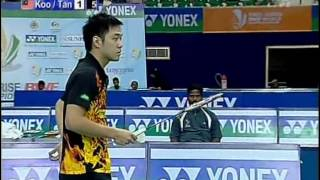 2009 World Championships - MDSF - Jung Jae Sung / Lee Yong Dae vs Koo Kien Keat / Tan / Boon Heong