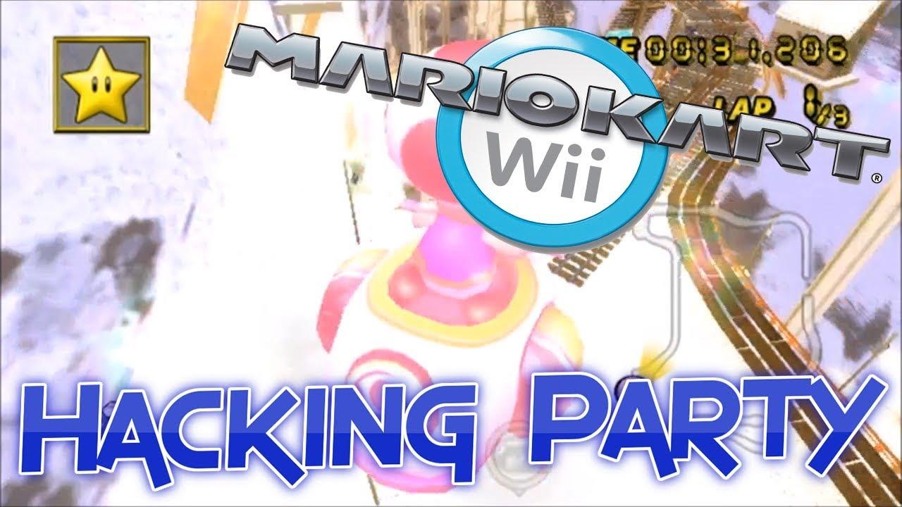 Mario Kart Wii Online Hacking Party!!! #2 (WHackR)