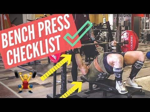 Bench Press Properly With Ben Pollack (AVOID MISTAKES!!)   MIND PUMP