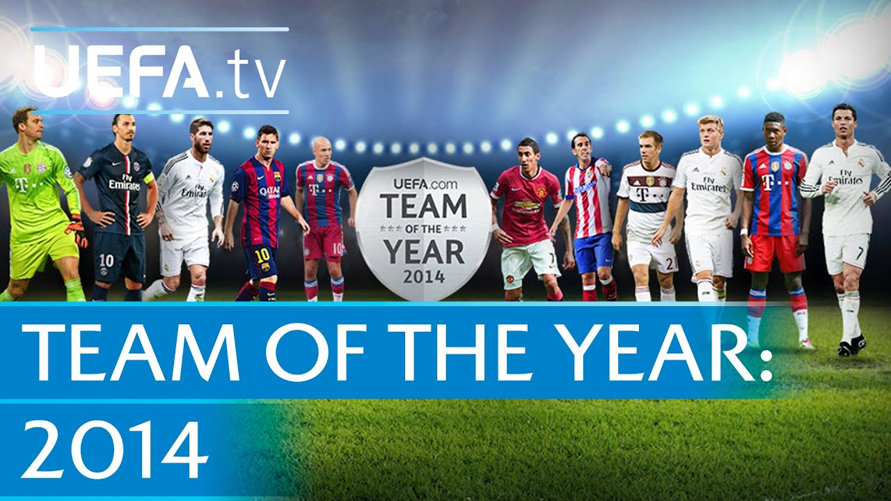 UEFA.com users' Team of the Year 2014 revealed - YouTube