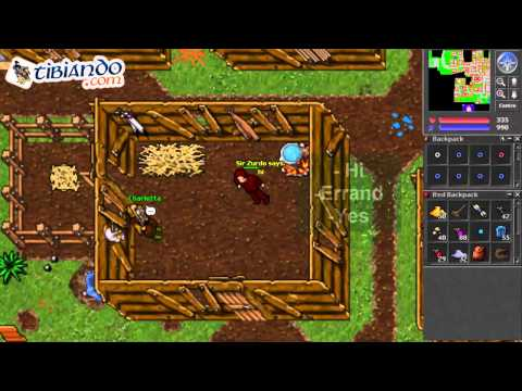 Tibia: Acceso a Tortugas - Eleonore Quest - Laguna Islands - The Shattered Isles Quest