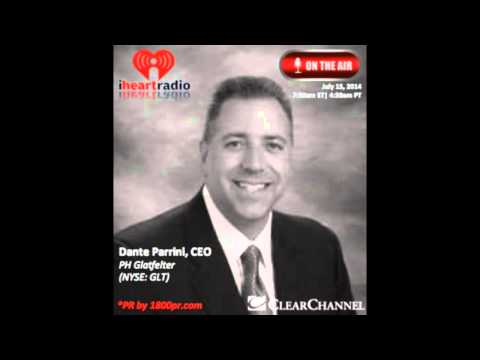 Dante Parrini CEO of PH Glatfelter Interviewed Live on Clear Channel The Traders Network Show