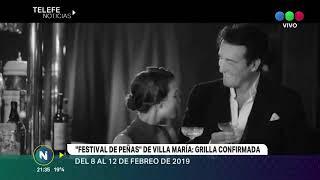 Festival de Peñas de Villa María 2019 Grilla confirmada