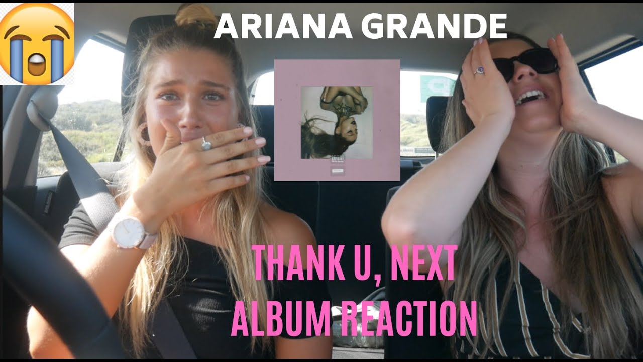 Ariana Grande- Thank U, Next || Album Reaction (emotional AF) image