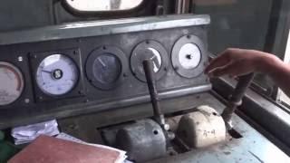 [IRFCA] Inside Alco WDM3A Locomotive, Ultimate Loco Cab Ride at 100 KMPH