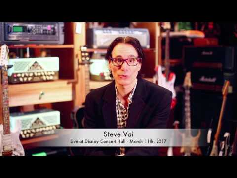 Steve Vai - Walt Disney Hall Performance with AYS - March 11, 2017 in Los Angeles