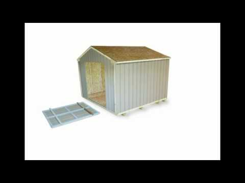 10 X 10 Storage Shed By Handy Home Products