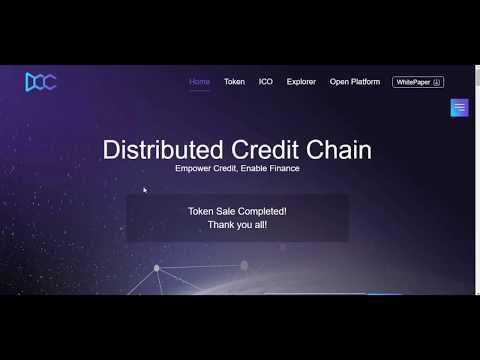 DCC ( Distributed Credit Chain ) RU