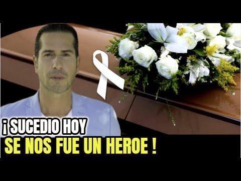🔴TRISTE NOTICIA ! Se Fue Para Siempre, LUTO EN EL ESPECTACULO , Actor Gregorio Pernia , Sucedio HOY!