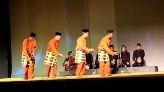 Zapin Meskom Bengkalis Riau (Riau World Dance Day 2013)