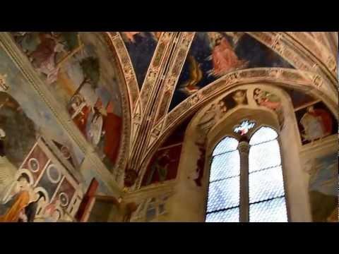 Frescos de Piero della Francesca en el Presbiterio de la Basílica de San Francisco en Arezzo, Italia