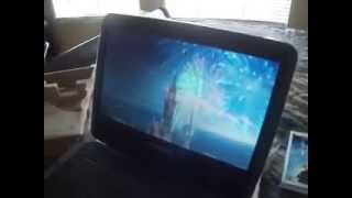Sylvania 10'' Portable DVD Player Unboxing/Review