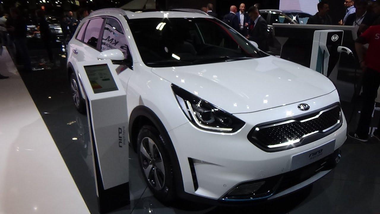 Kia Niro Interior >> 2019 Kia Niro 1 6 Gdi Hybrid 141 Exterior And Interior Paris Auto Show 2018