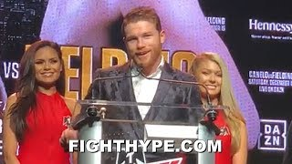 """CANELO REACTS TO $365 MILLION DAZN DEAL; """"VERY HAPPY"""" TO GIVE FANS HIS FIGHTS AT LOWER PRICE"""