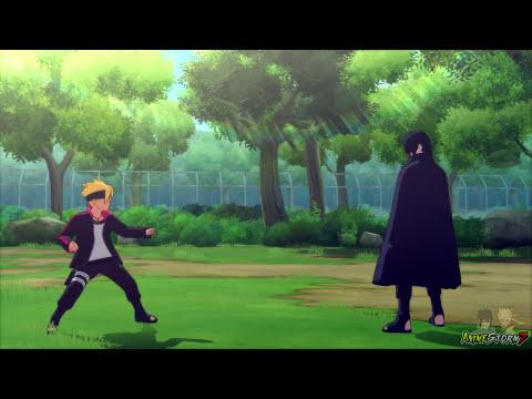 Sasuke Training Boruto & Sarada (English Dub)