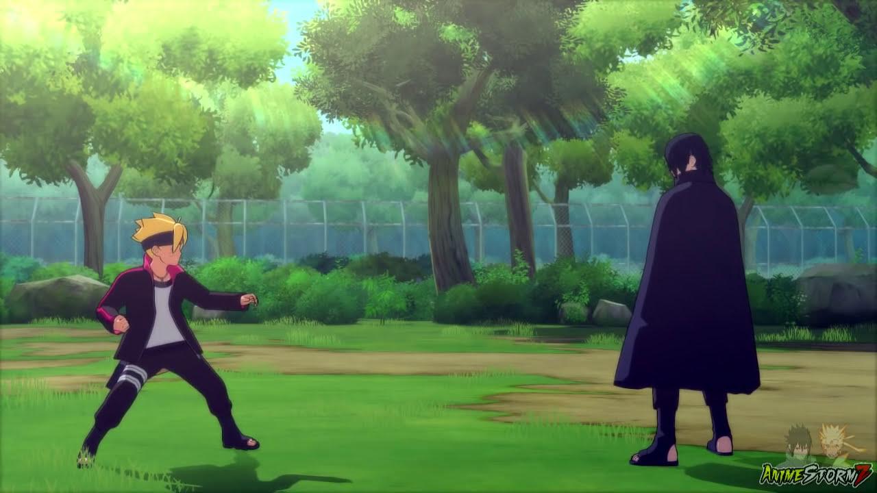 Sasuke Training Boruto & Sarada (English Dub) - Naruto