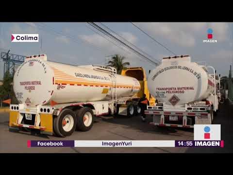 ¡En Colima sobra la gasolina! Pero no la pueden despachar | Noticias con Yuriria Sierra