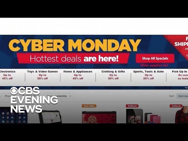 Black Friday sales break records ahead of Cyber Monday