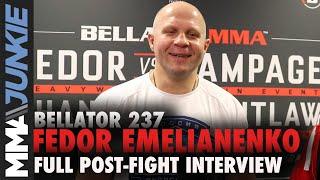 Bellator 237: Fedor Emelianenko full post-fight interview