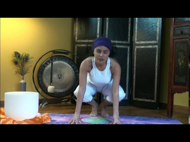 How to Kundalini Frog Pose - Balance Sexual Energy; get Creative Energy flowing