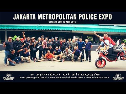 Simulasi Penanganan Teroris - Jakarta Metropolitan Police 2016