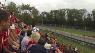 F1 Italian Grand Prix 2013 start and first pass