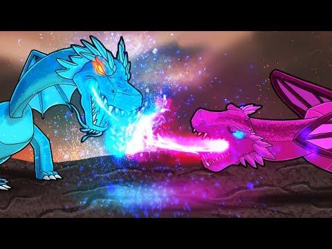 Minecraft Dragons - DRAGON CIVIL WAR!